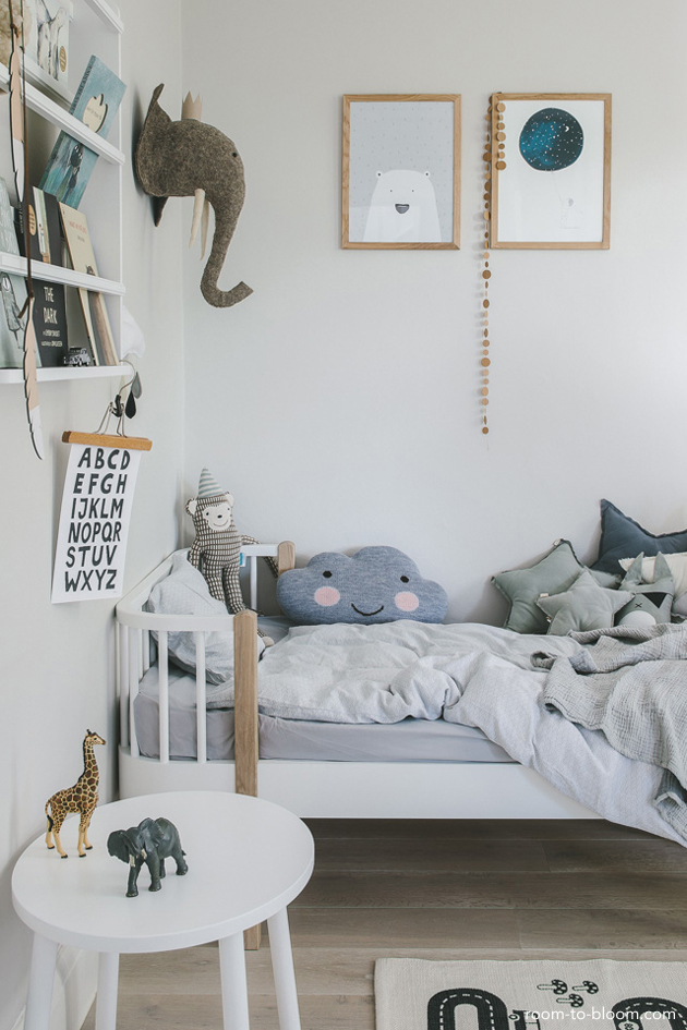 A Scandinavian Style Bedroom For Benjamin Room To Bloom