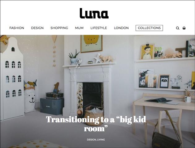 luna magazine kids room interior design