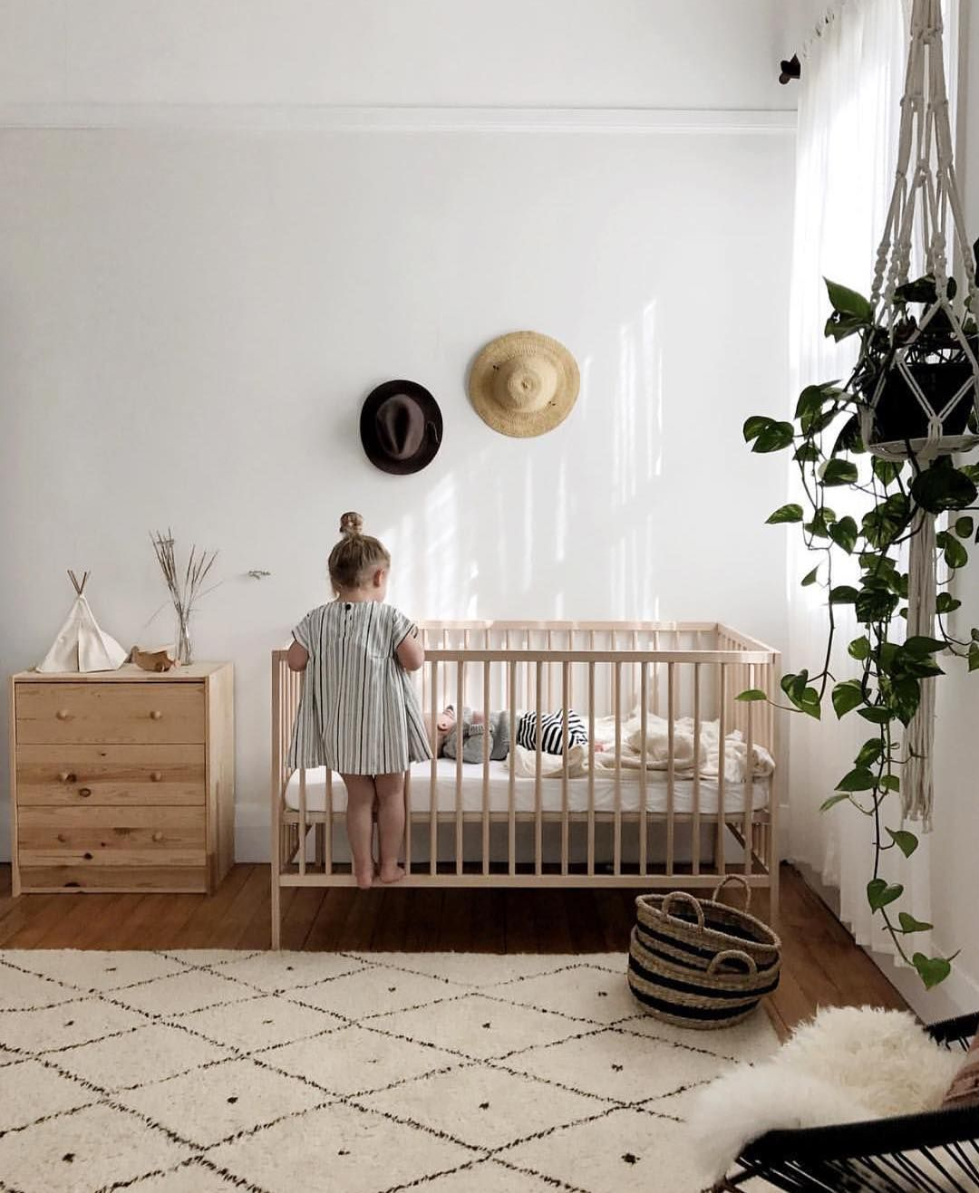 Natural Baby Nursery Design Reveal: Nursery & Kids Room Interior Design Blog