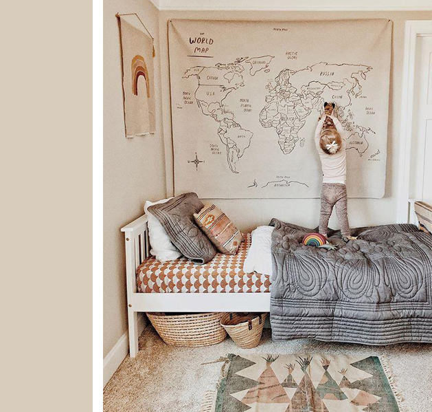 Good Warm Neutrals Kids Rooms