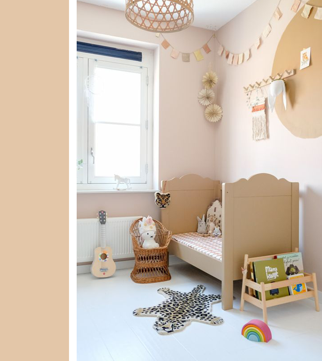 Warm Neutrals Kids Rooms